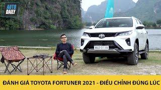 Đánh giá Toyota Fortuner 2021 - Điều chỉnh đúng lúc  Autodaily.vn 