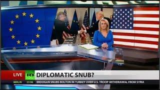 US downgraded EU ambassador's diplomatic status