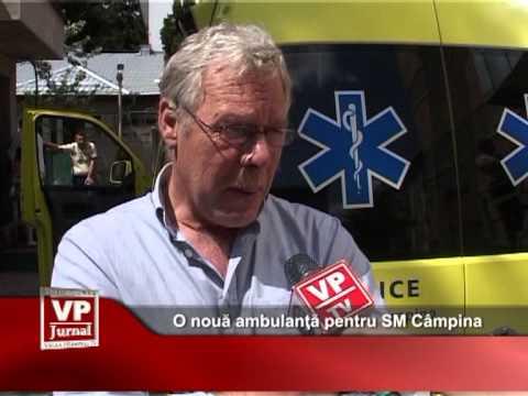 O nouă ambulanţă pentru SM Câmpina