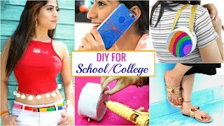 6 Smart Teenagers DIY For College/School Girls | #Fashion #Styling #Anaysa #DIYQueen