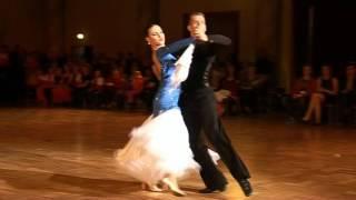 Taneční studio Ostrava - pár mezinárodní třídy - standard