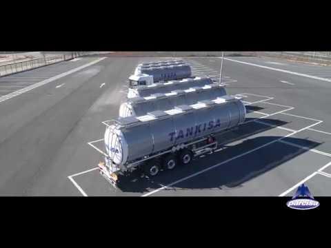 Cisternas Semirremolque productos Químicos TEQSA