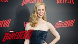 Deborah Ann Woll on Karen Page – Marvel's Daredevil Season 2 Red Carpet