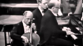 Mstislav Rostropovich - Beethoven - Cello Sonata No 5 in D major, Op 102