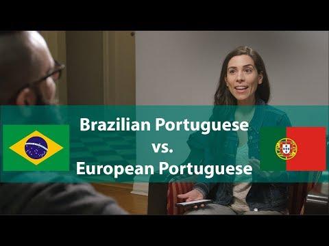 Português Brasileiro vs. Português Europeu