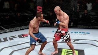 EA UFC PS4 Royce Gracie DLC Vs Wanderlei Silva Middleweight Championship Match