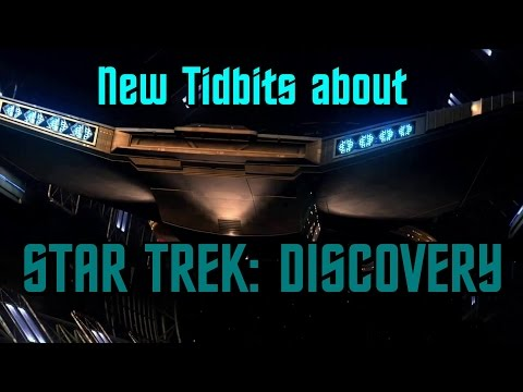 Tidbits about Star Trek: Discovery! | MTW