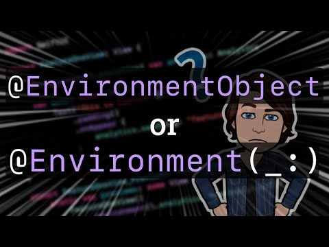 @EnvironmentObject vs @Environment(_:): how do you choose? 🤔 thumbnail