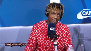 Juice WRLD Freestyles to 'Just Lose It' by Eminem