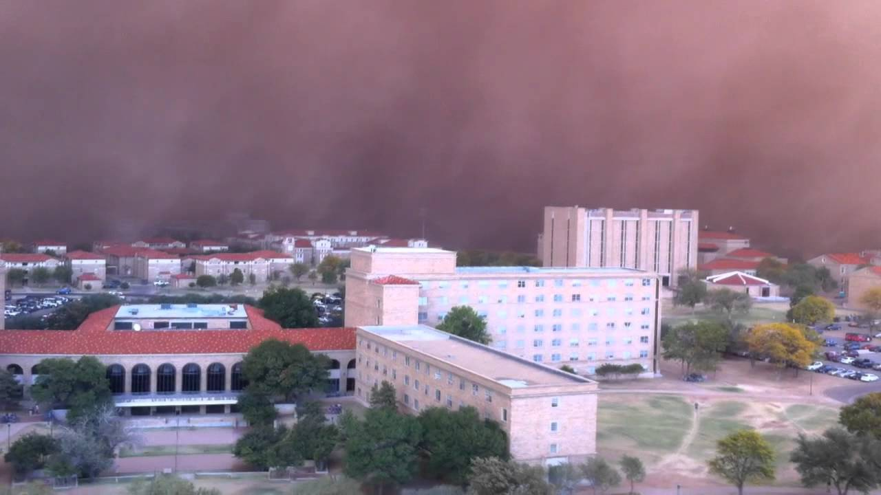Watch A West Texas Town Get Consumed By A Dust Storm