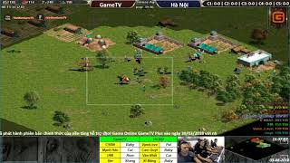 C1T1 | 4vs4 Random | GameTV vs Hà Nội | Ngày 03-08-2018