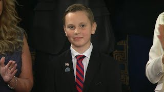President Trump highlights efforts of boy who placed flags on veteran's graves