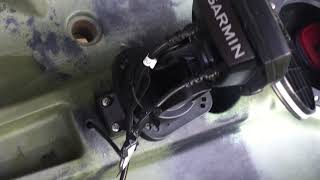 Garmin Striker 4 Fish Finder Kayak Installation
