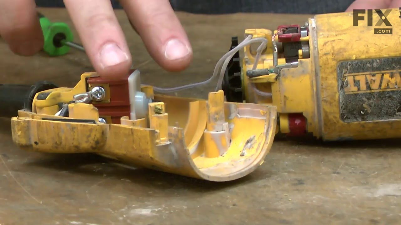 Replacing your DeWALT Grinder Arm