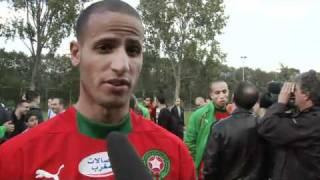 Training Marokko Bij AFC Amsterdam.