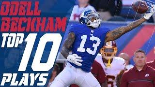 Odell Beckham Jr.'s Top 10 Plays of the 2016 Season | New York Giants | NFL Highlights | Kholo.pk