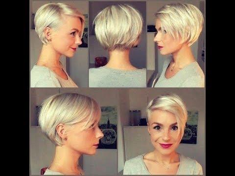2019 Kısa Bayan Saç Modelleri