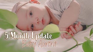 5 Month Update   Separation Anxiety, Trying To Crawl & Teething Solutions!