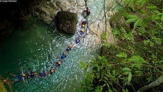 ASEAN Canyoneering in Alegria, Cebu
