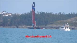 BDA: Another MOB in AC50 practice, this time the Kiwis
