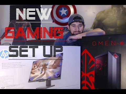 Unboxing HP Omen Obelisk Desktop 875-0024 | My New Gaming