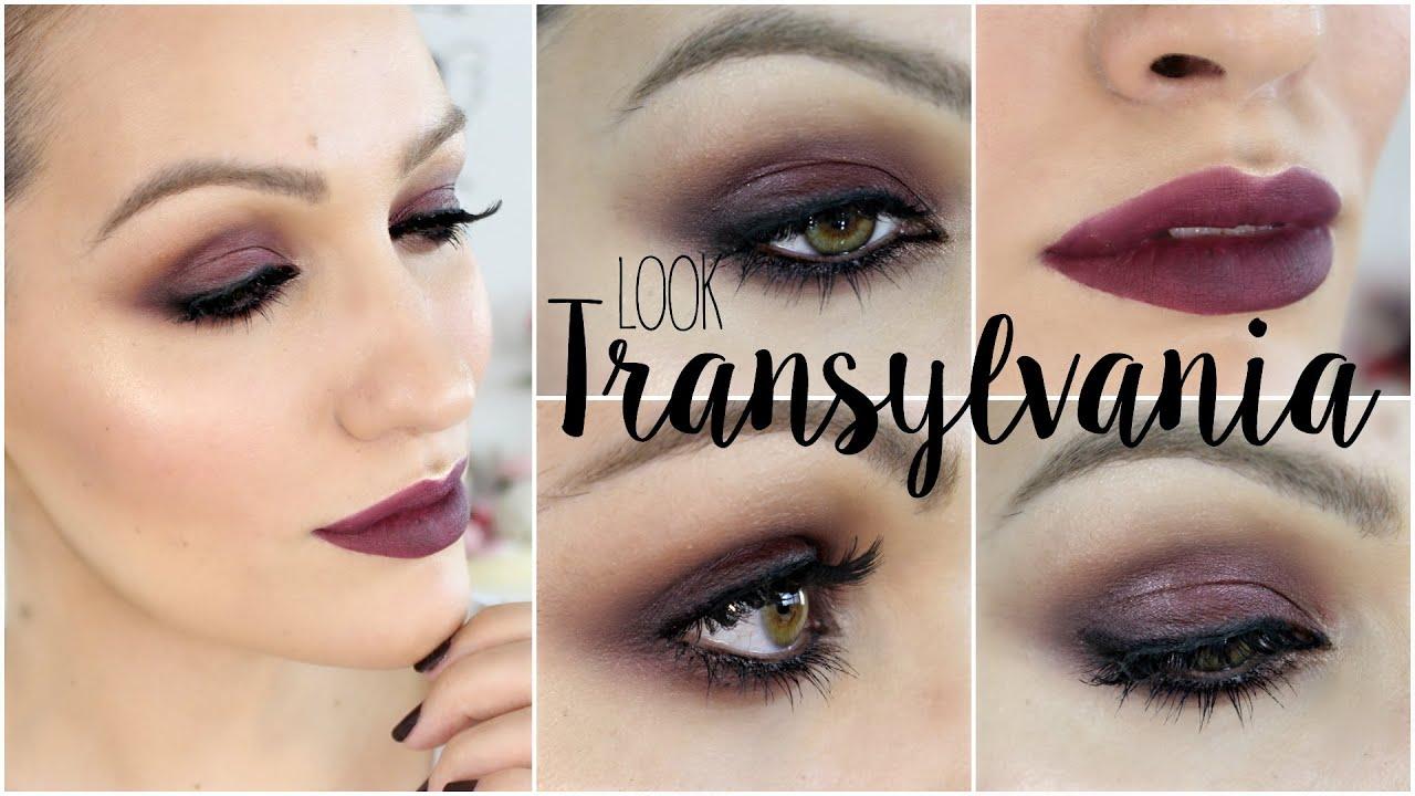 "Vamp Look: Maquillaje burdeos ""Transylvania"""