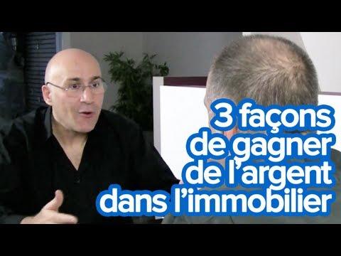 Comment gagner de l'argent dans l'immobilier avec Olivier Seban