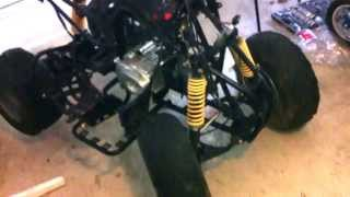 110 cc Chinese quad atv transmission problem diagnosis 1