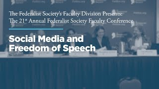 Click to play: Panel: Social Media and Freedom of Speech