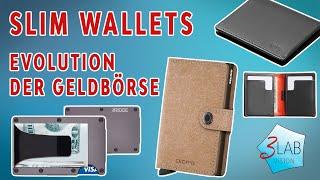 Slim Wallets | Bellroy / Secrid / The Ridge | Unsere Portemonnaie Empfehlungen