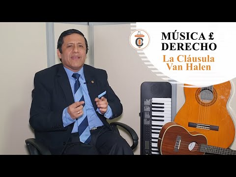 LA CLÁUSULA VAN HALEN - MÚSICA Y DERECHO - TC 184