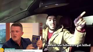 Tommy Robinson Loses Debate With Muslim