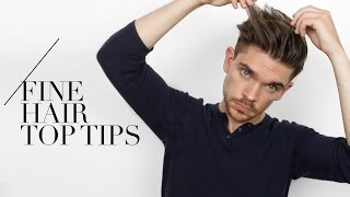 7 Tips For Guys With Fine Hair… I Swear By Them!