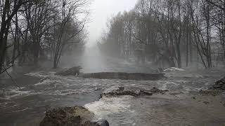 Потоп Ахтырка, объездная дорога перекопана!!