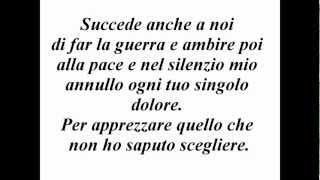 **TESTO** Marco Mengoni - L'essenziale (Sanremo 2013)