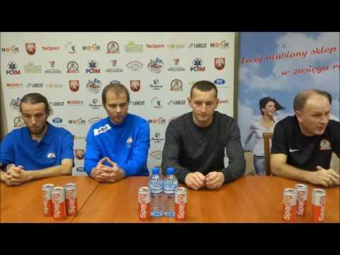 Konferencja po meczu 2 ligi futsalu SPAR Łańcut - Stal Mielec [WIDEO]