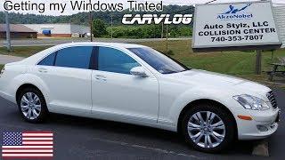 Getting my Windows Tinted - Car Vlog - Portsmouth Ohio