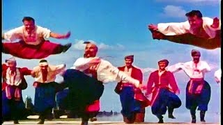 Dance of the Zaporozhye Cossacks - the Alexandrov Red Army Ensemble (1965)