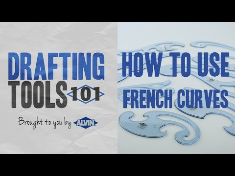 Drafting Tools 101 - Learn How to Use French Curves