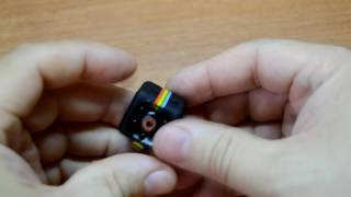 Мини камера SQ11 обзор, пример видео, разборка