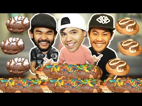 Dinner Donuts Food Challenge! (Ft. Ryan Higa & RHPC)