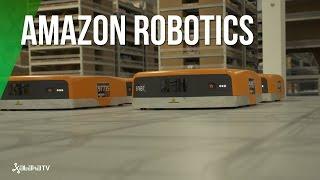 Amazon Robotics y su almacén robótico