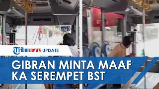 Viral KA Batara Kresna Serempet Batik Solo Trans di Jalan Slamet Riyadi, Walkot Gibran Akan Evaluasi