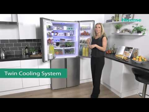 RQ562N4AC1 Hisense 4 Door Fridge Freezer Review