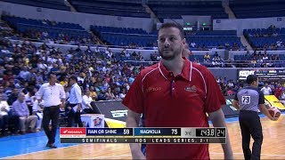 [Sport5]  Coach Caloy ejected | PBA Philippine Cup 2019 Semifinals