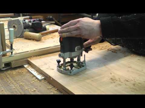Esszimmertisch 3 - Bau der Tischplatte Teil 2
