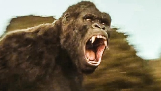 KONG: SKULL ISLAND 'Is That A Monkey?' Movie Clip + Trailer (2017)