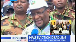 Government set to begin evictions in Mau forest following the expiry of 60 day notice