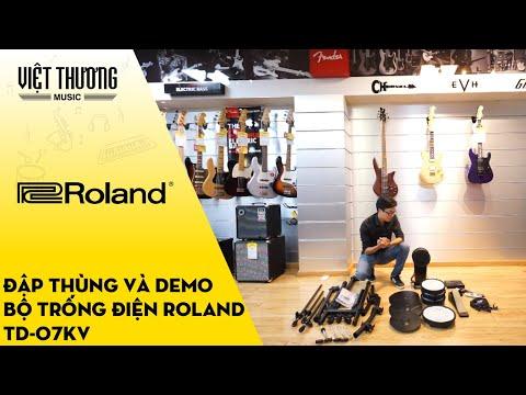Đập thùng, review và demo sound tiếng bộ trống điện Roland TD-07KV