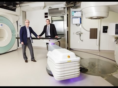 The World's First Magnetic-Resonance Guided Radiotherapy Suite (MRgRT)